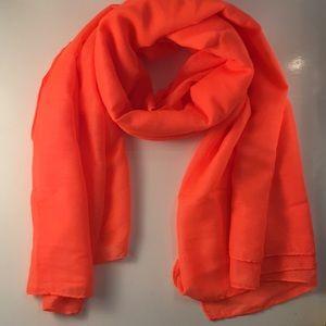 H&M Bright Orange scarf